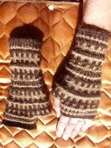Finger-less mittens